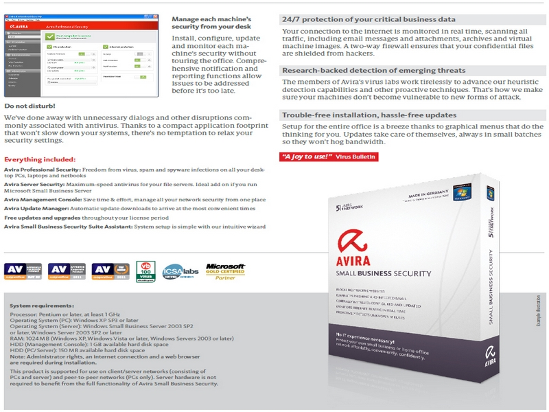 Avira for Small Business